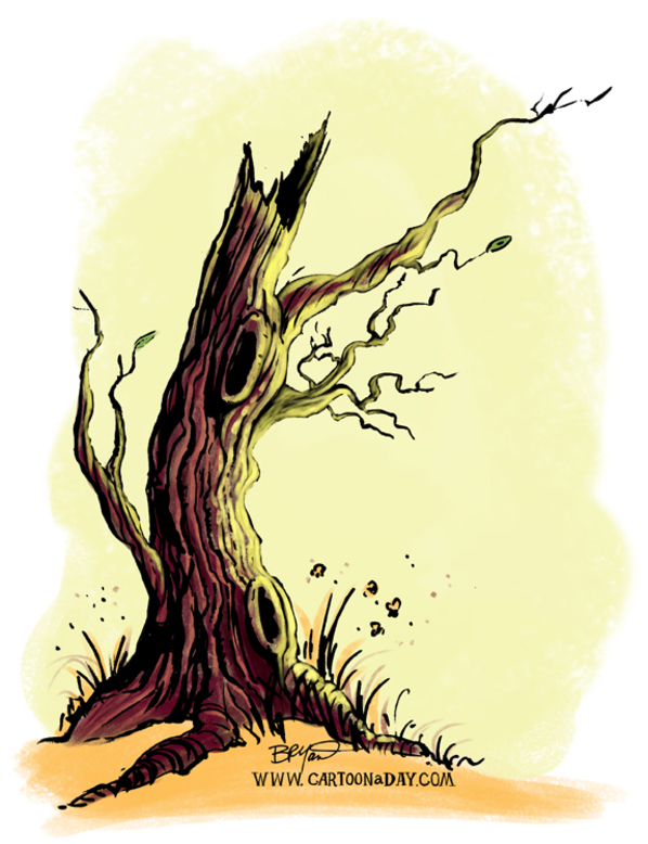 fall-orange-tree-watercolor