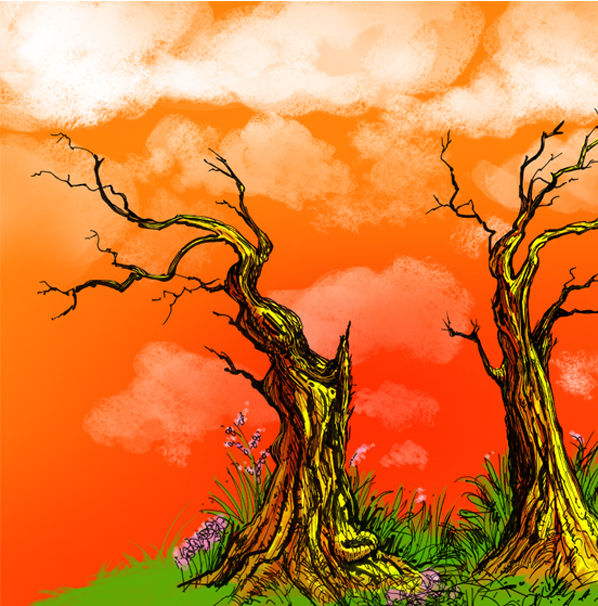 Trio-of-trees-painting-598