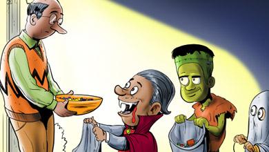 Funny Halloween Cartoons Hallowen Costum Udaf