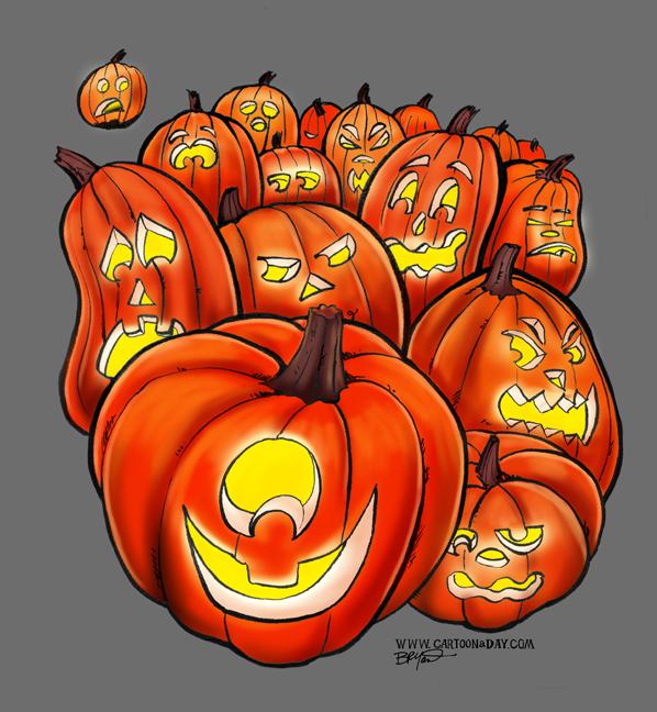 halloween-bunch-o-jackolanterns-color-598