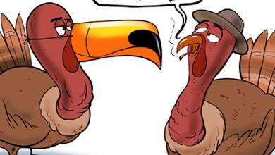 funny cartoon thanksgiving turkey ❤ cartoon