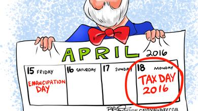 income tax cartoon tagged cartoons