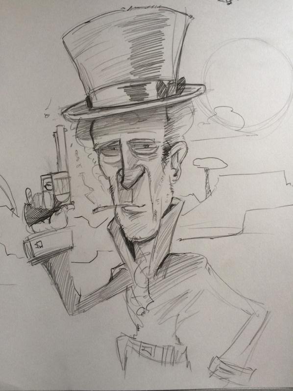 random-cowboy-gunslinger-solo-sketch