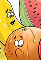 Fruit Murder Cartoon