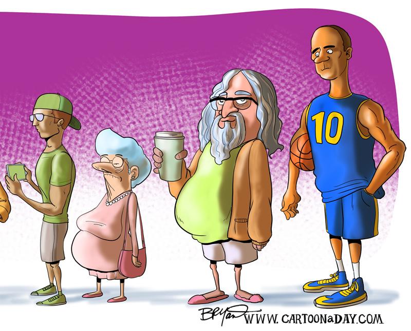 weekend-starbucks-lineup-cartoon-8002
