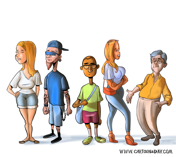 weekend-starbucks-lineup-cartoon-A-598