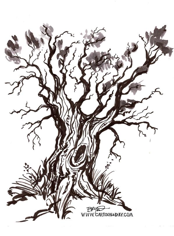 watercolor-black-tree-598