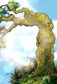 Overhanging Tree Sketch