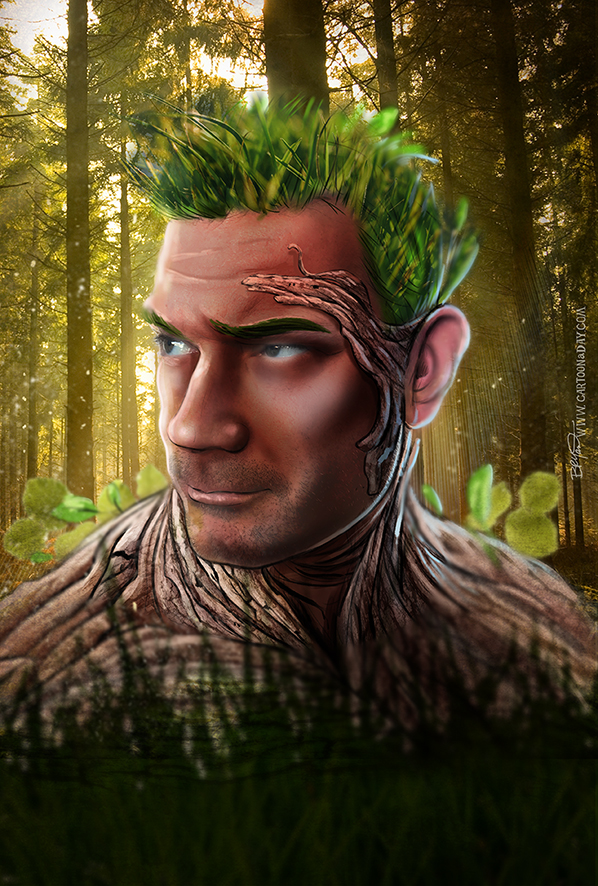 Forest-king-Portrait-toon-598