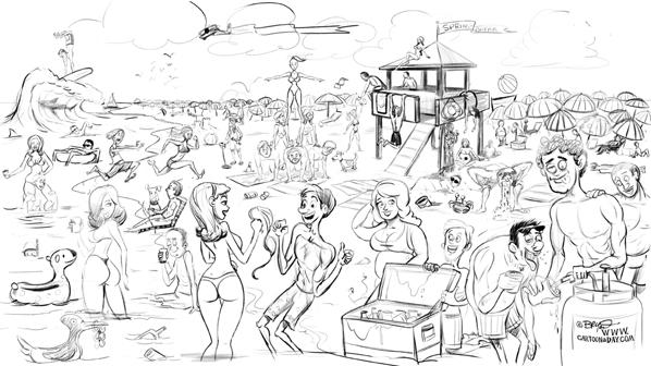 Spring-break-cartoon-sketch-598