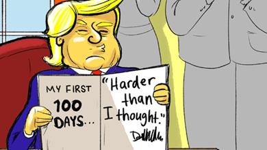 Funny Donald Trump Cartoon Cartoons