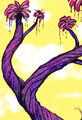 Twiggy Tree Pink and Purple