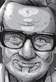 George A Romero Dies Gravestone