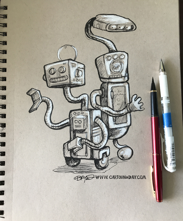 Robot-sketches-598