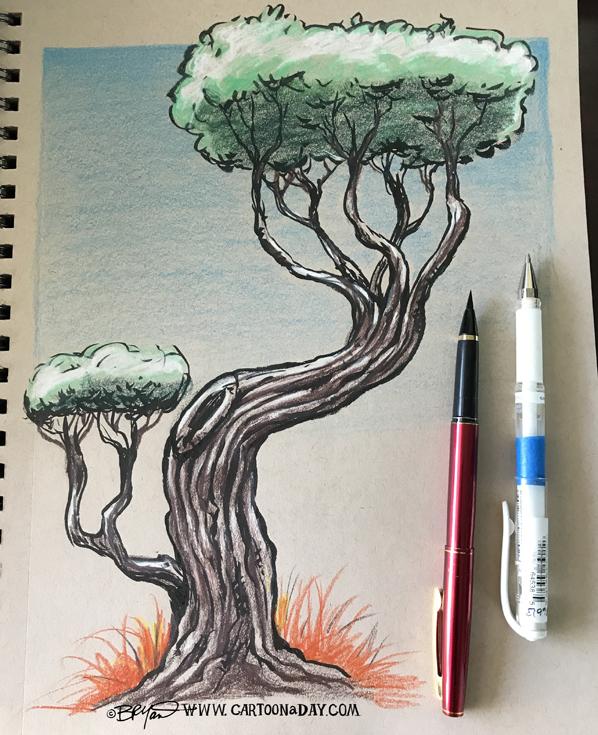 Twiggy-colored-tree-598