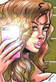 Selfie Cartoon Cosmetic Surgery
