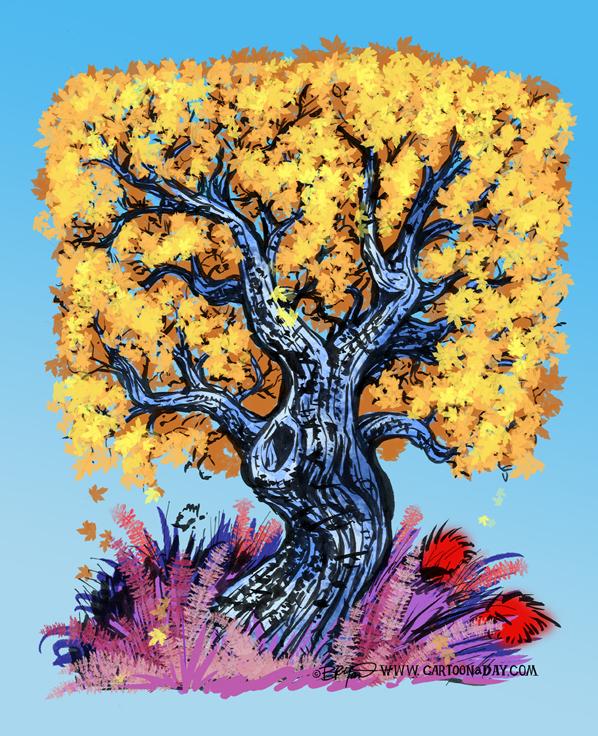 twiggy-tree-blue-orange-598