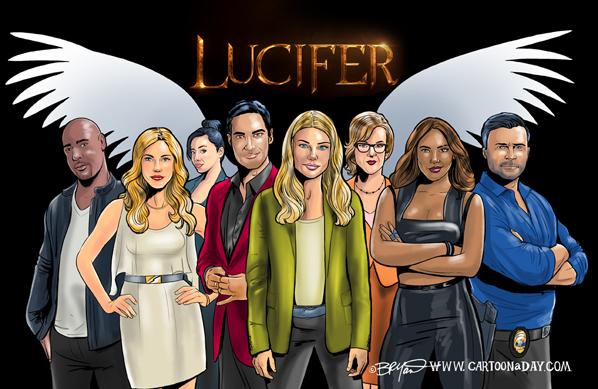 Lucifer-cast-caricature-598