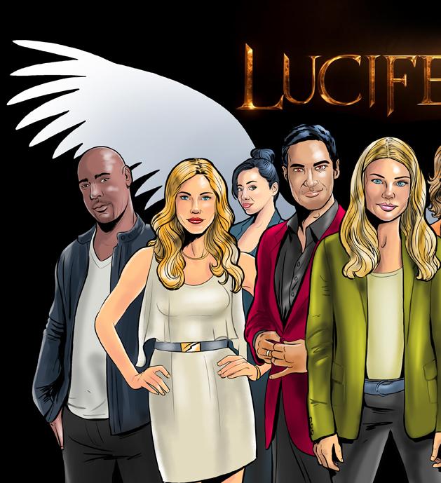 Lucifer-cast-caricature-left