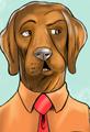 Labrador Retriever Cartoon