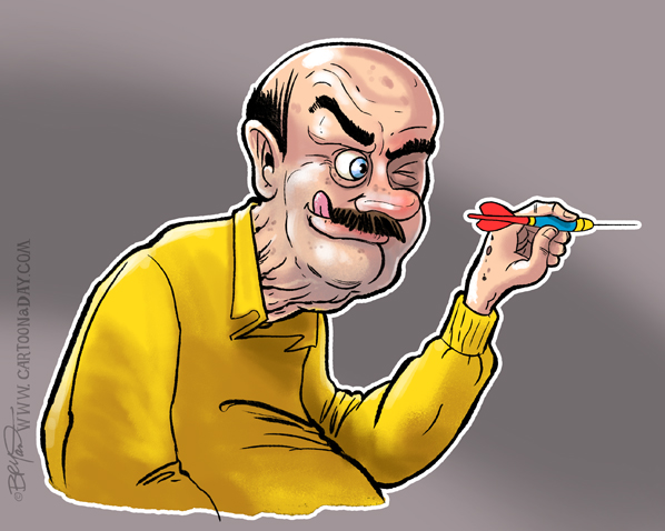 old-man-darts-cartoon-598