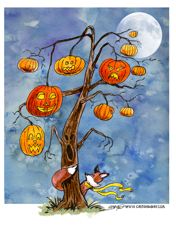 Foxy-pumpkin-tree-598