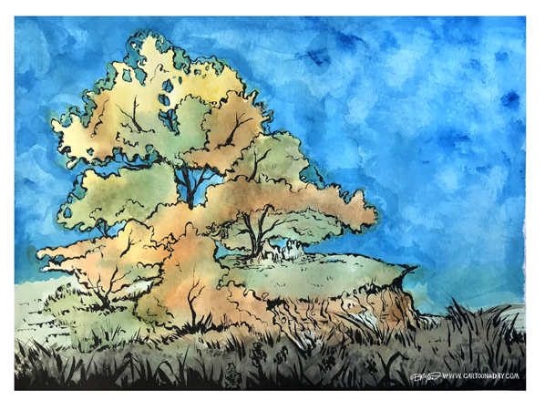 cliff-tree-watercolor-598