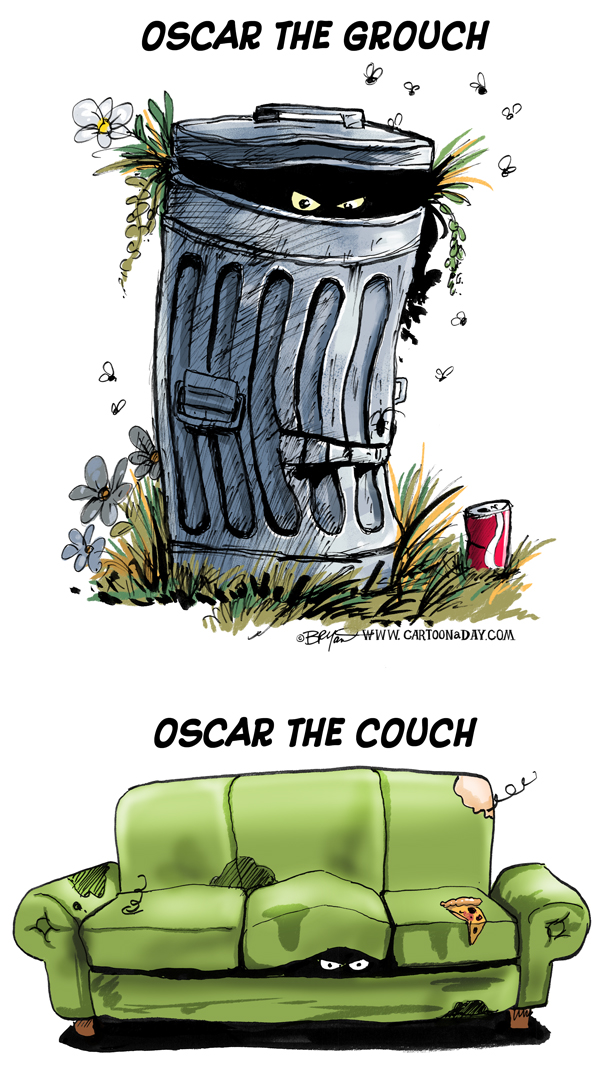 Oscar The Couch Cartoon Cartoon Cartoon A Day