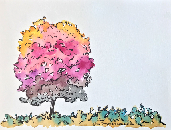 rainbow-watercolor-tree-598