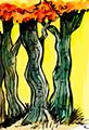 Twiggy Tangled Sunny Tree