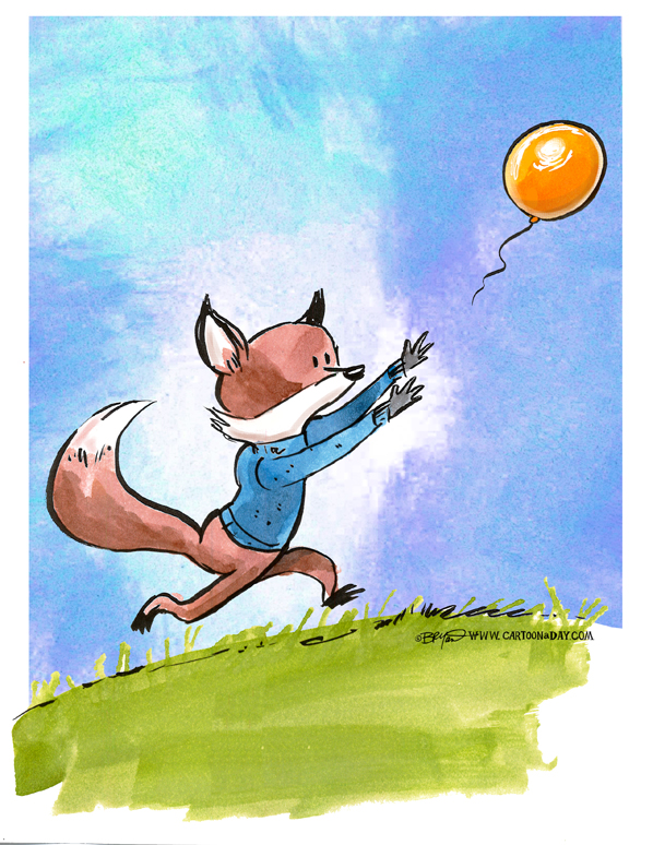 fox-chasing-balloon-598
