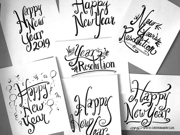 Happy-new-year-brush-script-598