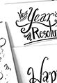 Happy New Year Brush Script