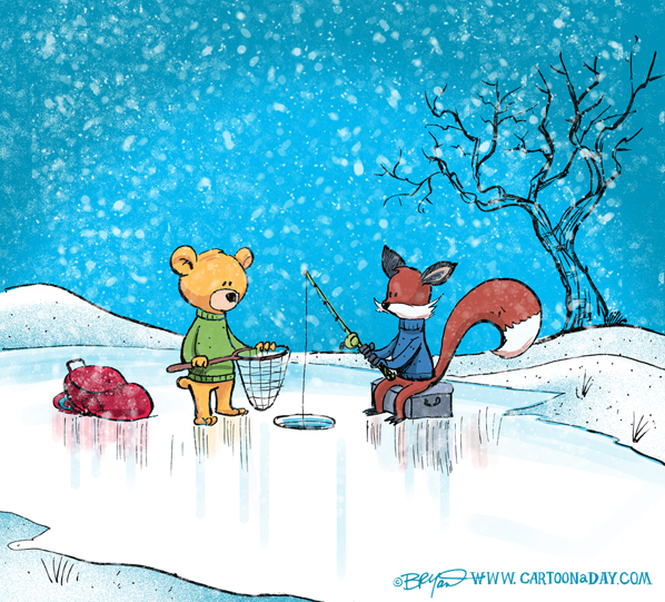 fox-bear-ice-fishing-598