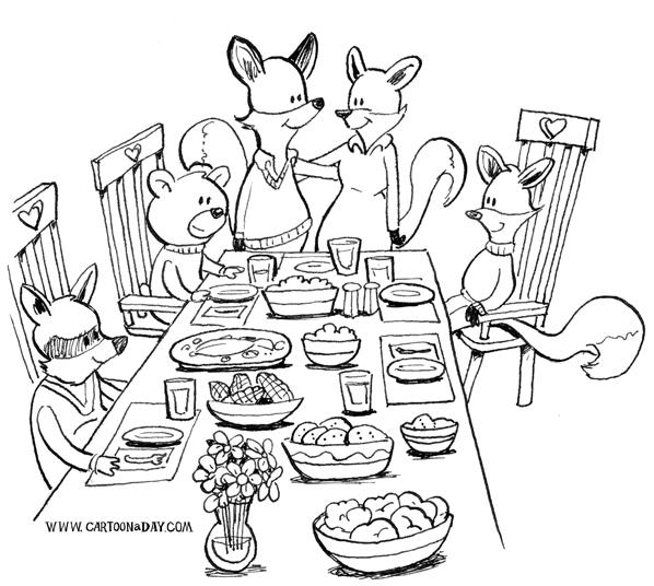 fox-family-dinner-598