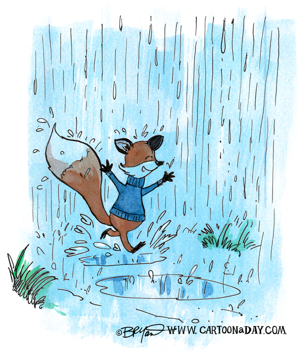 fox-running-in-rain-598