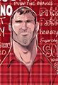 Letterkenny Cast Wayne Caricature