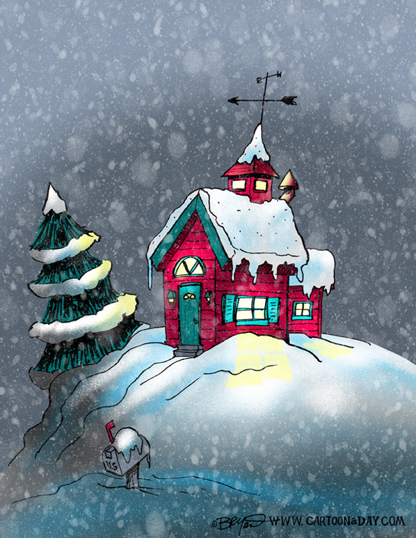 Winter-house-cartoon-598