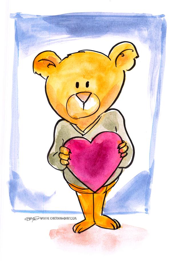 bear-valentine-598