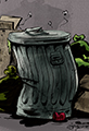 Pile of Garbage Cartoon