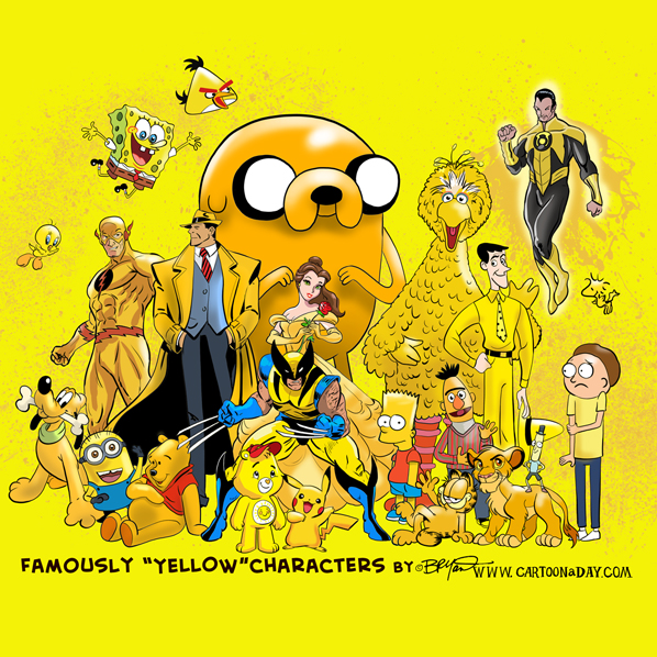 Famously-yellow-characters-598