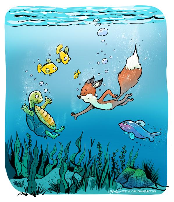 Foxy-underwater-Turtle-598
