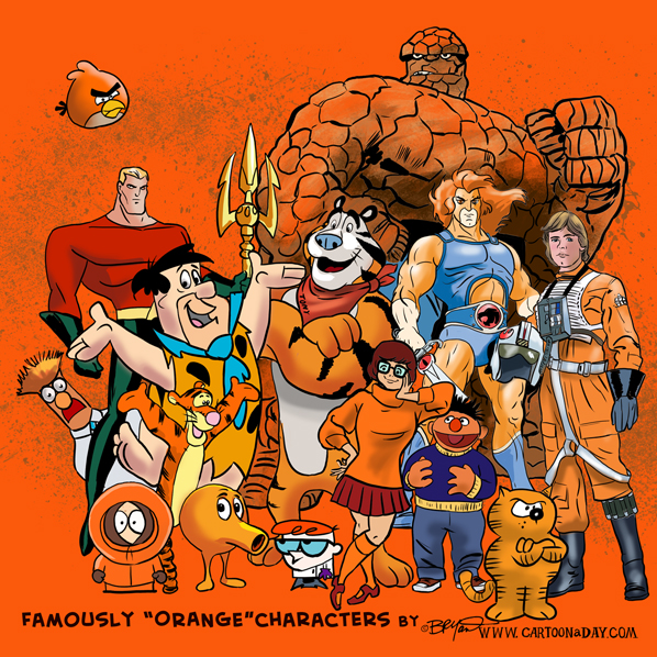 Famously-orange-characters-598
