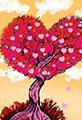 Twiggy Heart Tree