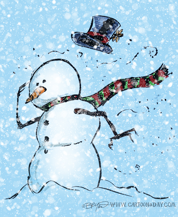 Snowman-cartoon-blustery-storm-598
