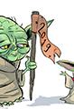 Baby Yoda Happy New Year