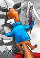 Kit the Fox Triple Portrait