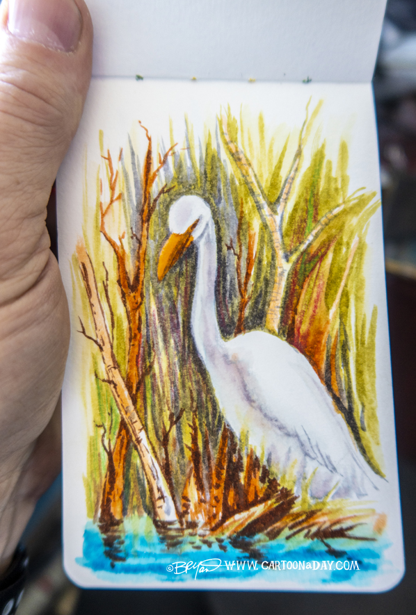 White-heron-watercolor-598