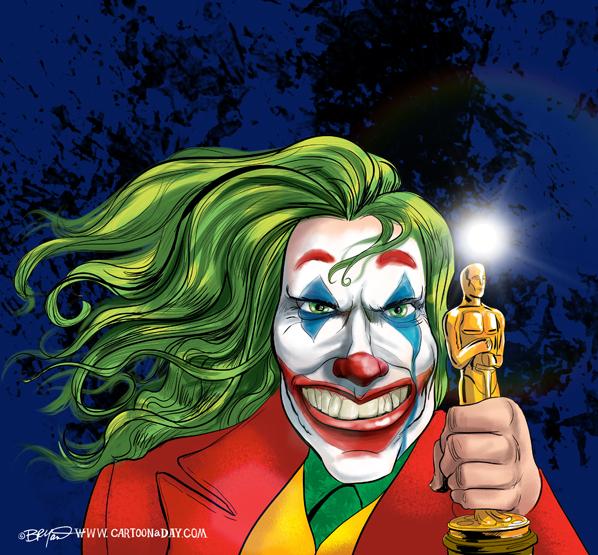 joker-joaquin-phoenix-oscar-caricature-598