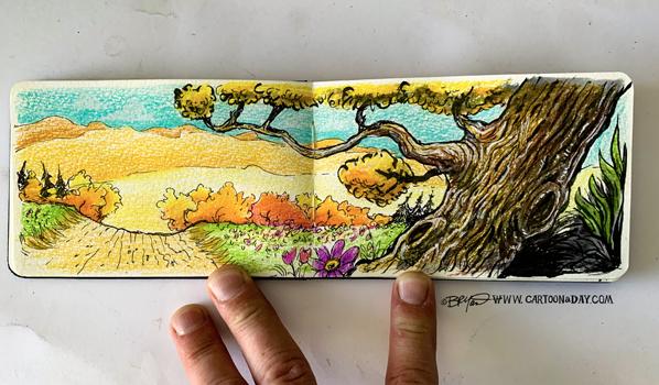 sketchbook-road-tree-598